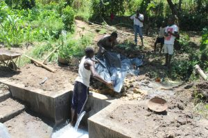 The Water Project:  Pvc Backfilling