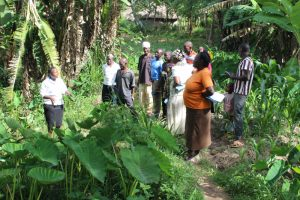 The Water Project:  Onsite Training At Shivina Spring