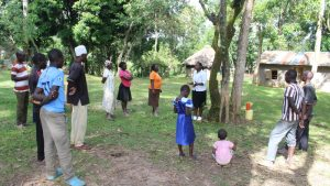 The Water Project:  Facilitator Betty Explains Importance Of Handwashing In Combating Covid