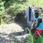 The Water Project: Litinye Community, Shivina Spring -  Excavation Works