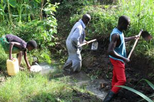 The Water Project:  Excavation Works