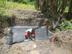 The Water Project:  Preparing Foundation