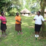 The Water Project: Litinye Community, Shivina Spring -  Participants Requested To Wash Hands Before Training