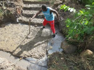 The Water Project:  Leveling Foundation