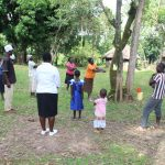 The Water Project: Litinye Community, Shivina Spring -  Handwashing Session