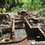 The Water Project: Litinye Community, Shivina Spring -  Stair Construction