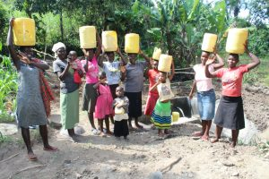 The Water Project:  Happy After Fetching From New Spring