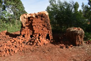 The Water Project:  Brick Making Site
