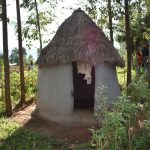 The Water Project: Machemo Community, Boaz Mukulo Spring -  Latrine Facility