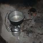 The Water Project: Kimang'eti Community, Kimang'eti Spring -  Cookstove Inside Kitchen