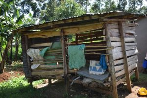 The Water Project:  Traditional Granary For Storing Harvested Maize