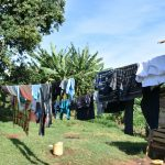 The Water Project: Kimang'eti Community, Kimang'eti Spring -  Clothesline