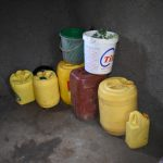 The Water Project: Kimang'eti Community, Kimang'eti Spring -  Water Storage Containers