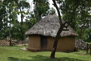 The Water Project:  A Traditional Hut