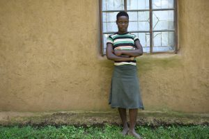The Water Project:  Agnes Ndombi
