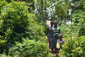 The Water Project:  Heading To Fetch Water