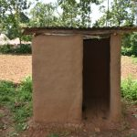 The Water Project: Imbiakalo Community, Askari Spring -  Latrine