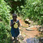 The Water Project: Imbiakalo Community, Askari Spring -  Leaving Askari Spring