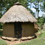 The Water Project: Imbiakalo Community, Askari Spring -  Outside Kitchen
