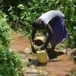 The Water Project: Imbiakalo Community, Askari Spring -  Washing Container Used To Fetch Water