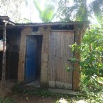 The Water Project: Mahira Community, Mukalama Spring -  Latrine