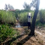 The Water Project: Mahira Community, Mukalama Spring -  Carrying Water