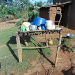 The Water Project: Indulusia Community, Osanya Spring -  Dishrack