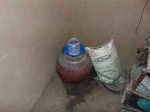 The Water Project:  Traditional Clay Pot Water Storage