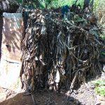 The Water Project: Makhwabuyu Community, Sayia Spring -  Latrine