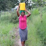 The Water Project: Makhwabuyu Community, Sayia Spring -  Sheila Andeso