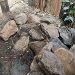 The Water Project: Mukhuyu Community, Gideon Kakai Chelagat Spring -  Bathing Room Floor