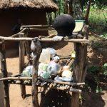 The Water Project: Mukhuyu Community, Gideon Kakai Chelagat Spring -  Dishrack