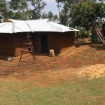 The Water Project: Mukhuyu Community, Gideon Kakai Chelagat Spring -  Freshly Landscaped Home
