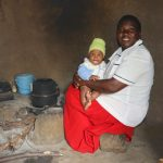 The Water Project: Mukhuyu Community, Gideon Kakai Chelagat Spring -  Happy Baby With Mom