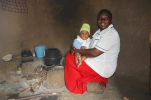 The Water Project:  Happy Baby With Mom
