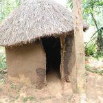 The Water Project: Mukhuyu Community, Gideon Kakai Chelagat Spring -  Outside A Latrine