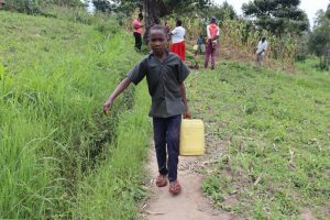 The Water Project:  Stephen Carrying Water