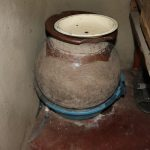 The Water Project: Mukhuyu Community, Gideon Kakai Chelagat Spring -  Traditional Clay Pot For Drinking Water