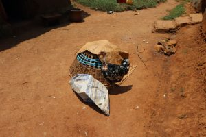 The Water Project:  Chicken Cage