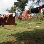 The Water Project: Mukhonje B Community, Peter Yakhama Spring -  Clothesline