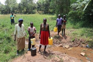 The Water Project:  Community Members At The Water Point