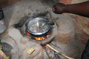 The Water Project:  Cooking Over The Kitchen Fireplace