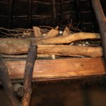 The Water Project: Mukhonje B Community, Peter Yakhama Spring -  Firewood Used As Fuel