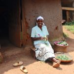 The Water Project: Mukhonje B Community, Peter Yakhama Spring -  Relaxed At Her Home