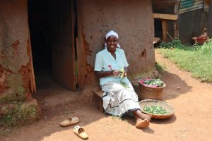 The Water Project:  Relaxed At Her Home