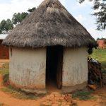 The Water Project: Mukhonje B Community, Peter Yakhama Spring -  Traditional Hut