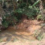 The Water Project: Mukhonje B Community, Peter Yakhama Spring -  Water Source