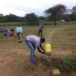 The Water Project: Kiteta Community A -  Handwashing