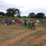 The Water Project: Kiteta Community A -  People Sit At Training