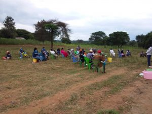 The Water Project:  People Sit At Training